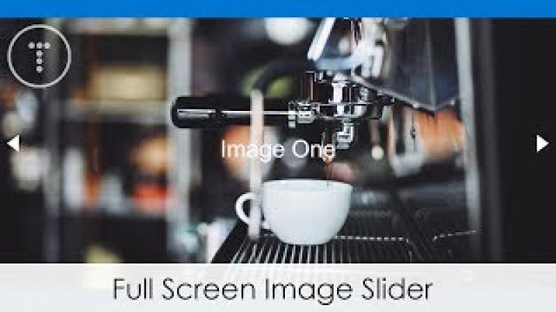 Full Screen Image Slider With HTML, CSS JS