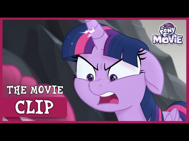 Twilight Yells at Pinkie (And Gets Captured by Tempest)   My Little Pony: The Movie [Full HD]
