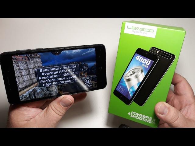 Leagoo kiicaa power 4000 max 2GB16GB честный полный обзор на русском с тестами камеры видео GPS