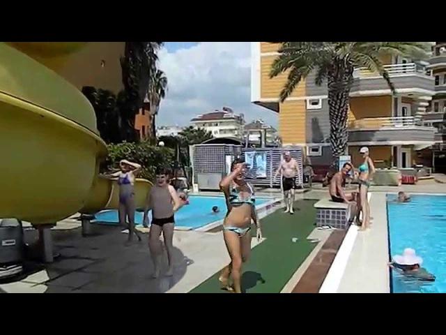 Hotel Inova beach.