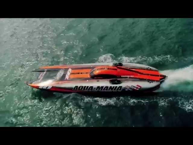 Insane Key West 200 mph video of Aquamania