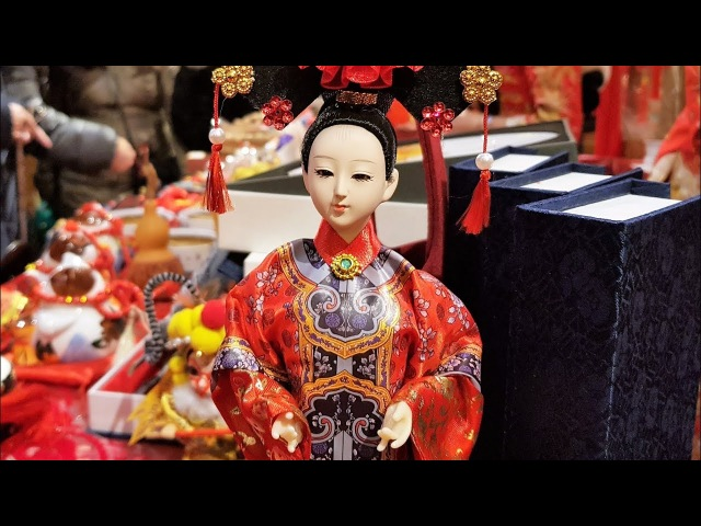 Chinese New Year in Moscow 中国新的一年 4K