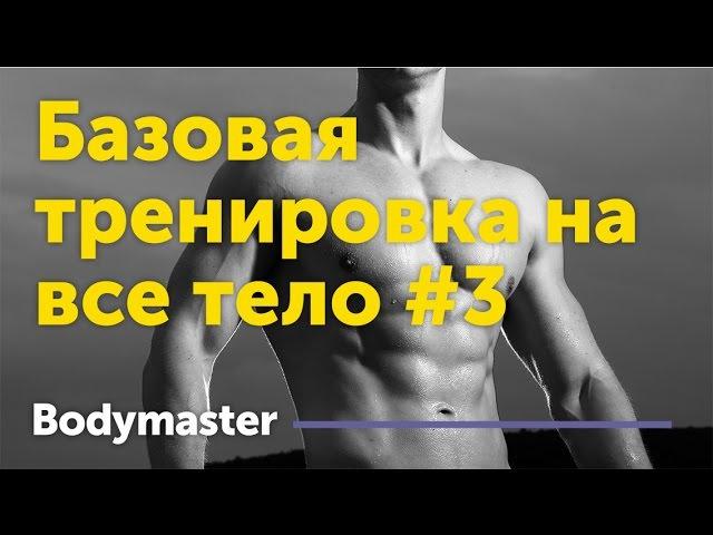 Базовая программа тренировок на все тело 3 ,fpjdfz ghjuhfvvf nhtybhjdjr yf dct ntkj 3