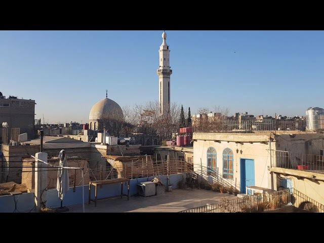 8.1.2018 Gefechte am Morgen in Damaskus 1