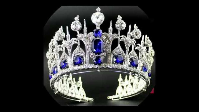World,s most expensive beautiful royal diamond and stones crowns