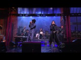 K'naan feat Nelly Furtado - Is Anybody Out There (Late Show With David Letterman 2012 02 23)