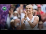 Wimbledon 2017 - Magdalena Rybarikova shocks Karolina Pliskova