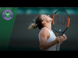 Simona Halep v Beatriz Haddad Maia highlights - Wimbledon 2017 second round