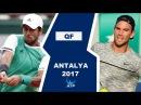 Fernando Verdasco vs Adrian Mannarino Highlights ANTALYA 2017