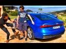 ОБЗОР НОВОЙ АУДИ А7 С ПАВЛОМ БЛЮДЕНОВЫМ Тест драйв в Африке Изучаем Audi A7 55 TFSI 340 сил