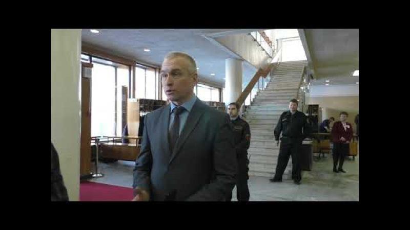 Начальник департамента протокола Сергей Широв
