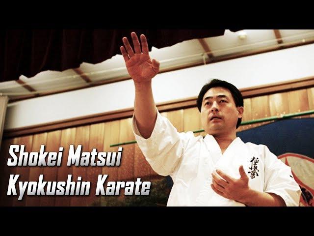 Kancho Shokei Matsui - Kyokushin Karate