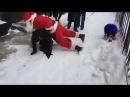 Человек Паук против Бэтмена, Бэтмен против Санта Клауса! Русский Новый Год! Эпик!