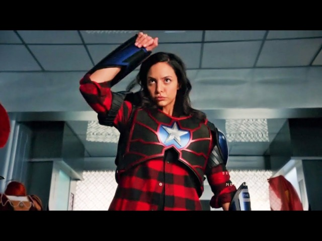 DC Legends of Tomorrow 3x11 Nate and Zari decides to have fun before Waverider Explodes Scene