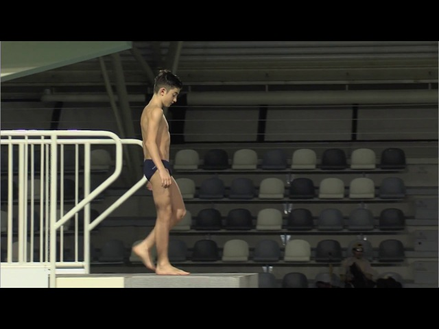 Senet Diving Cup 2017, Boys C Platform