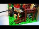 Лего самоделка Зомби апокалипсис Начало эпидемии 22 Lego Moc
