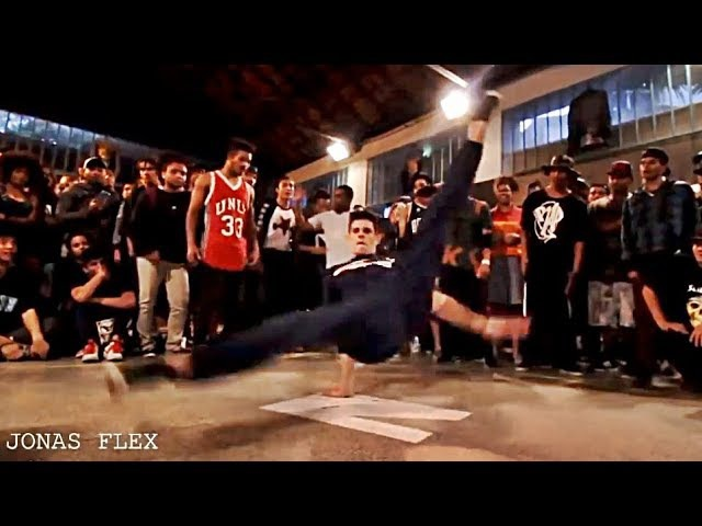 B.boy Jonas Flex vs Sinistro - PowerTricks Battle in The Cypher SP 2017