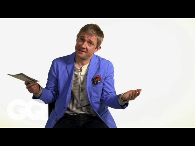 Martin Freeman's Tips on How to Not Get Emasculated - GQ Celebrity Life Advice