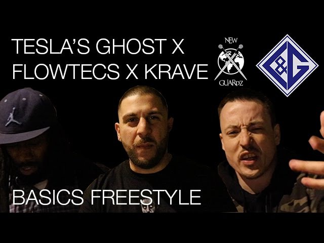 Flowtecs, Tesla's Ghost and Krave - The Basics (Freestyle) | LG.TV