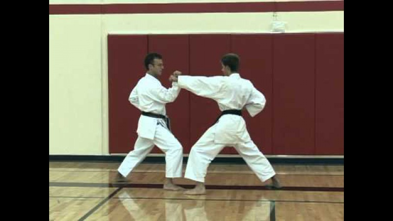 Basic Partner Work Sanbon Kumite Part 1