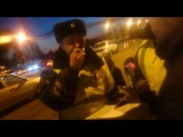 ДПС. Досмотр без оснований. Оренбург. Полицейские: Попов Андрей Сергеевич, Ромасенко.