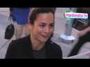 Alice Braga takes selfies while greeting fans at Kill Me Three Times Premiere in Hollywood
