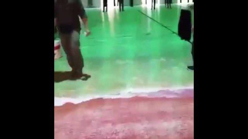 Olha o piso desse mercado de peixes em Dubai! Engenharia Fantástica