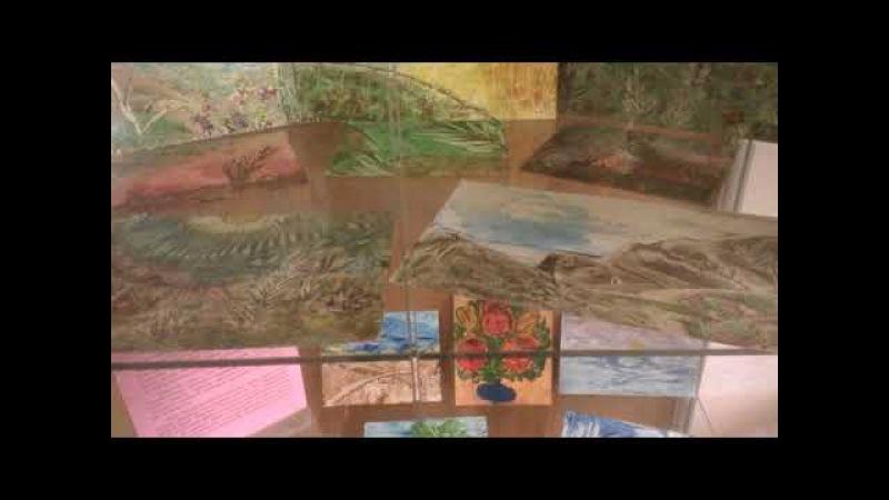 Выставка рисунков Л. Жолниной. Техника энкаустика