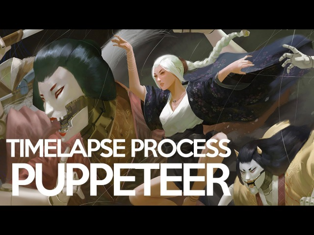 Puppeteer Timelapse Process