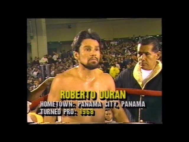 Roberto Duran vs Iran Barkley HD FOTY 1989 The Ring