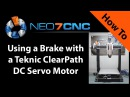 How to Use a Brake with a Teknic ClearPath DC Servo Motor -