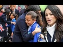 Meghan Markle overwhelmed when Harry introduces her to schoolgirl who tells her THIS