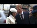 Кейт Миддлтон, Меган Маркл и члены королевской семьи на службе в честь Дня Содружества в Вестминстерском Аббатстве
