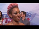 Mel B. and Simon Cowell Kiss and Make Up After Live 'AGT' Fight -- Mel Says, 'I'm Being Polite'