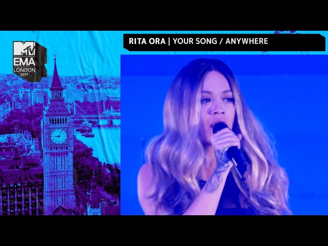 Rita Ora Performs 'Your Song' 'Anywhere' Medley | MTV EMAs | Live Performance | MTV Music