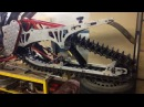 сноубайк из XR650R