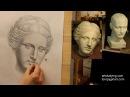 Афродита (7). Обучение рисунку. Портрет. 46 серия