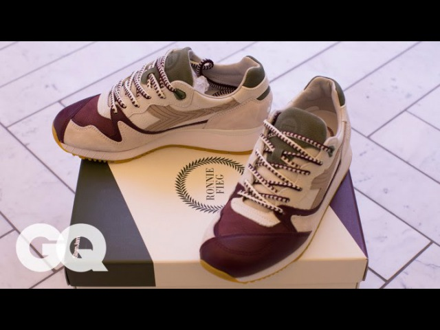 Ronnie Fieg Unveils His Newest Sneaker Masterpiece Style and How to GQ