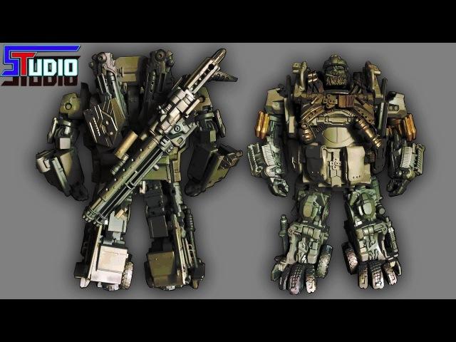 AlienAttack Toys AAT STF 02 Zhukov AKA TLK Hound