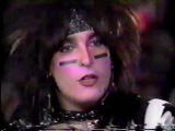 Motley Crue Vince Neil, Tommy Lee and Nikki Sixx Rare Interview Clip 1986