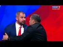 Вести Ru Во время дебатов Сурайкин попытался напасть на Шевченко