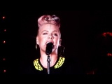 P!nk &amp Billy Joel  Try  Сольный концерт Билли Джоэла на Dodgers Stadium в Лос-Анджелесе, США (13.05.2017)