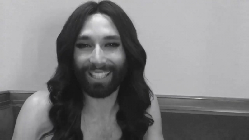 Conchita Wurst about music video Heast As Net - Facebook, 03.12.2017