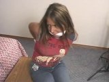 nadia detective chloro bound and gagged