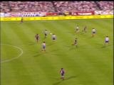 КИ 1995-96  Финал  Атлетико Мадрид - Барселона  1 тайм