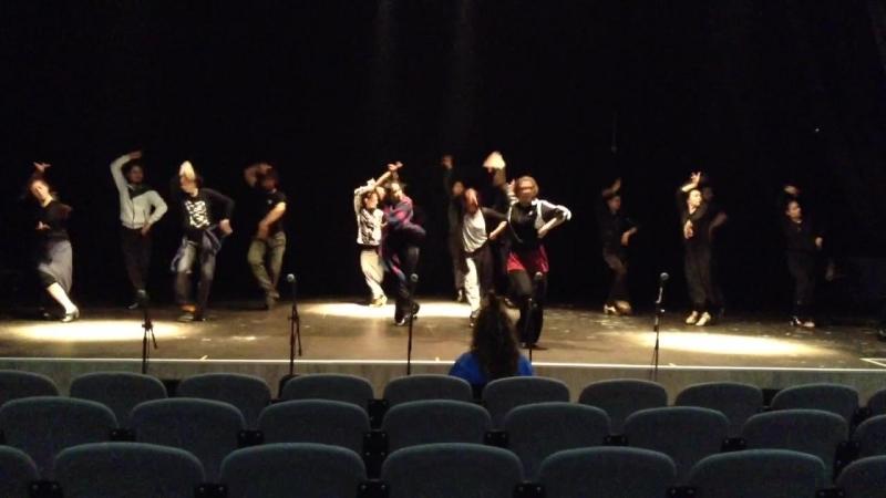 CIF Flamenconautas | монтаж спектакля | 19 февраля