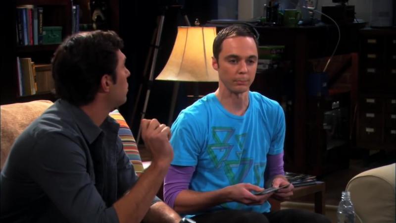 Шелдон и Лео троллят парня Пенни