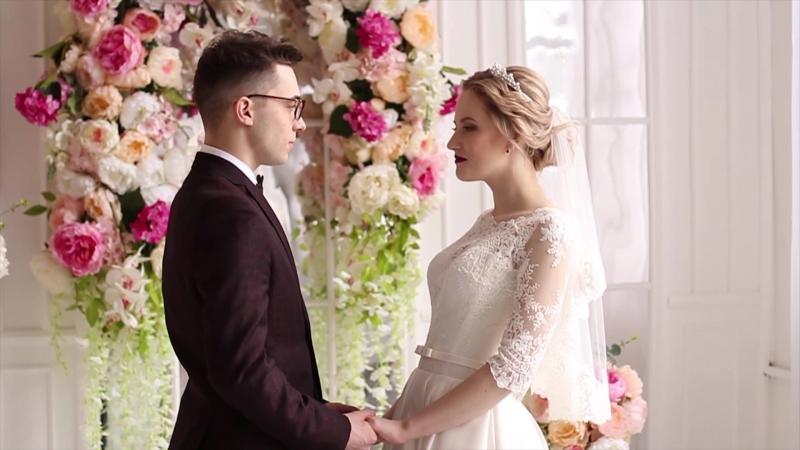 ❤ Очень красивая история любви - Андрей и Анна 27.01.2018