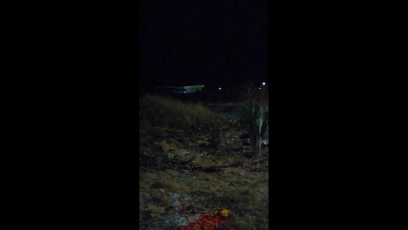..23 января ..видео Yake VillaZam (Мехико)-..Вы видите, что перед моим домом есть огненные шары..