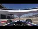 Williams Martini Racing Robert Kubicas first laps with the Halo